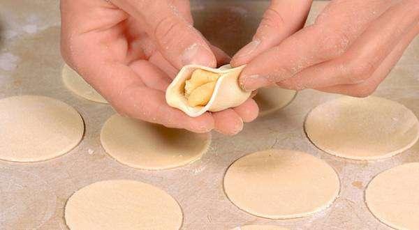 Пельмени с картошкой пошаговый рецепт с фото